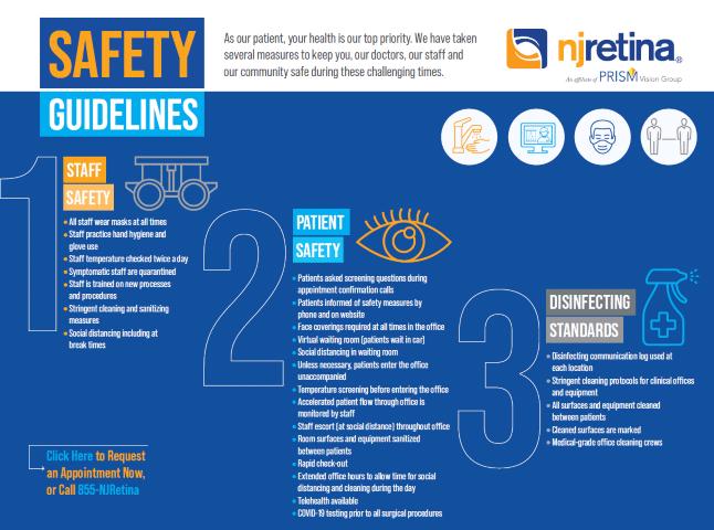 NJRetina Covid Safety